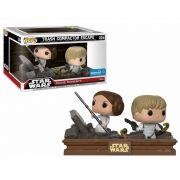 Pop! Trash Compactor Escape (Luke/Leia): Star Wars (Movie Moments) Exclusivo #224 - Funko