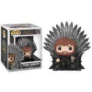 Pop! Tyrion Lannister (on Iron Throne): Game of Thrones #71 - Funko (Apenas Venda Online)