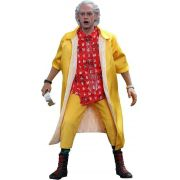 Boneco Dr. Emmett Brown: De Volta Para o Futuro II (Back to The Future II) Escala 1/6 - Hot Toys