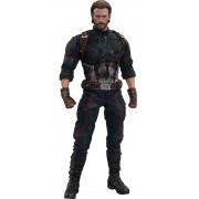 PRÉ VENDA: Boneco Capitão América (Captain America): Vingadores Guerra Infinita (Avengers Infinity War) (MMS480) Escala 1/6 - Hot Toys