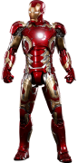 PRÉ VENDA: Boneco Homem de Ferro (Iron Man) Mark XLIII: Vingadores Era de Ultron (Avengers: Age of Ultron) Diecast (MMS278D09) Escala 1/6 - Hot Toys