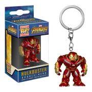 Pocket Pop Keychains (Chaveiro) Hulkbuster : Vingadores (Avengers Infinity War) - Funko (Apenas Venda Online)