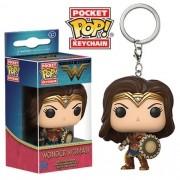 Pocket Pop Keychains (Chaveiro): Mulher Maravilha (Wonder Woman) Filme - Funko