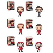 PRÉ VENDA: Pop! Pack La Casa de Papel Exclusivo (Set de 6) - Funko