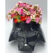 Vaso de Planta Capacete Darth Vader: Star Wars (Cachepot)