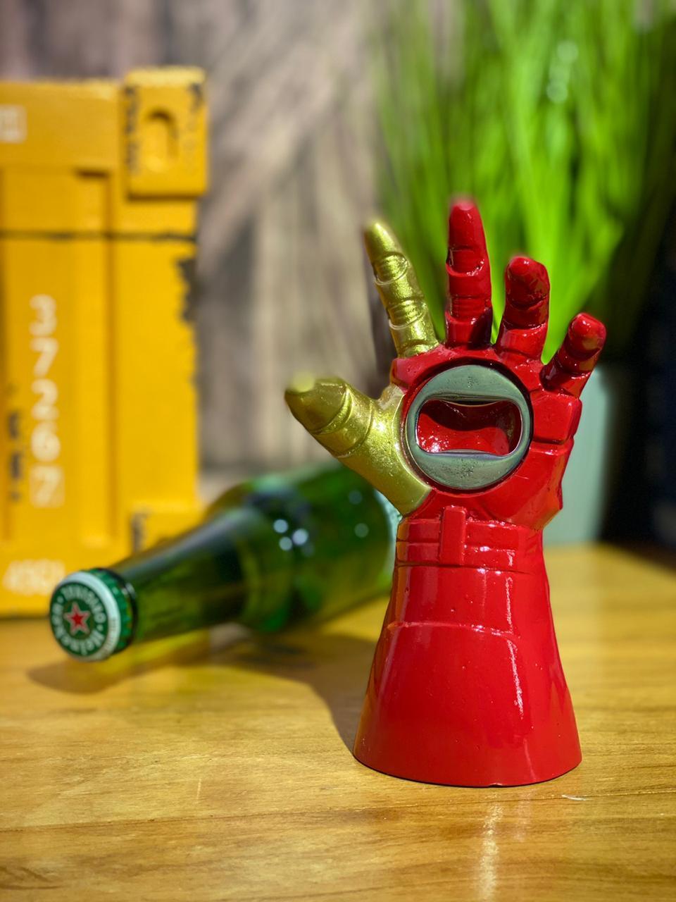 Abridor de Garrafa Homem de Ferro (Marvel) - Iron Man