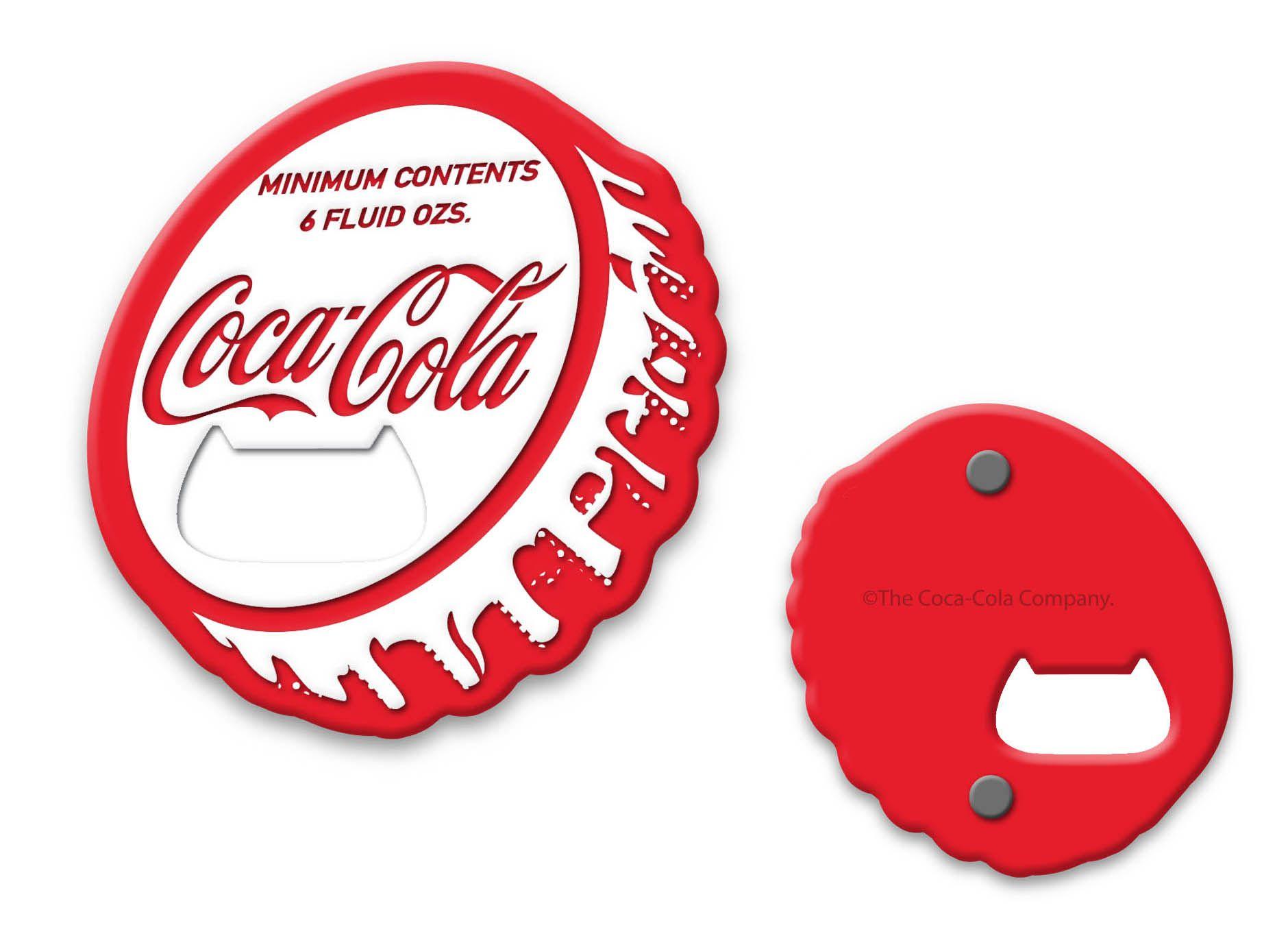 Abridor de Garrafa Magnético Coca-Cola (Tampa) - Urban