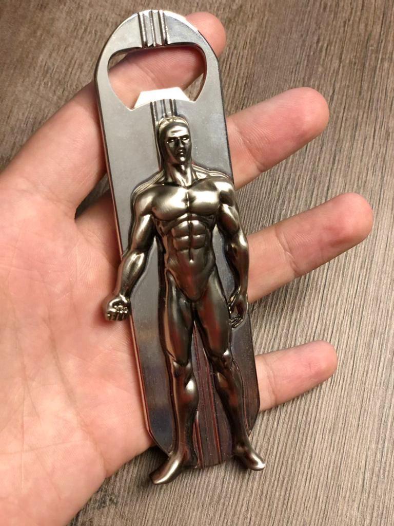 Abridor de Garrafa Surfista Prateado Silver Surfer: Marvel