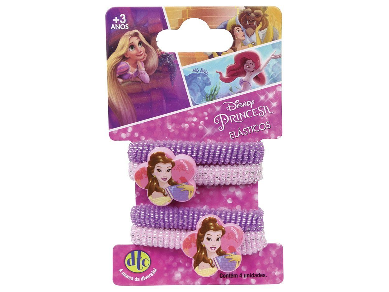 Acessório Princesas Disney: Elásticos Bela - DTC