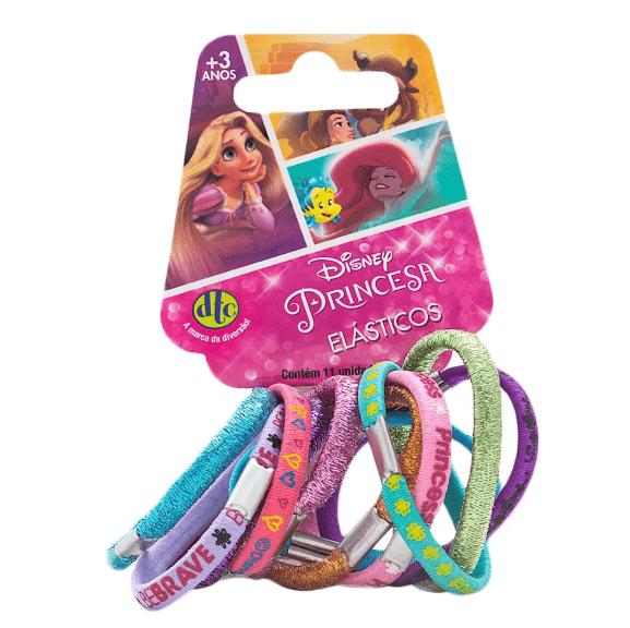 Acessório Princesas Disney: Elásticos Princesa (11 Un.) - DTC