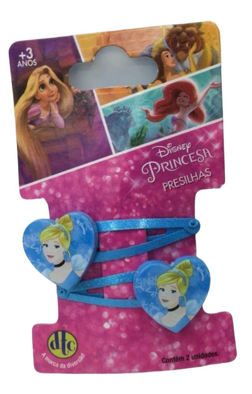 Acessório Princesas Disney: Presilha Cinderela - DTC
