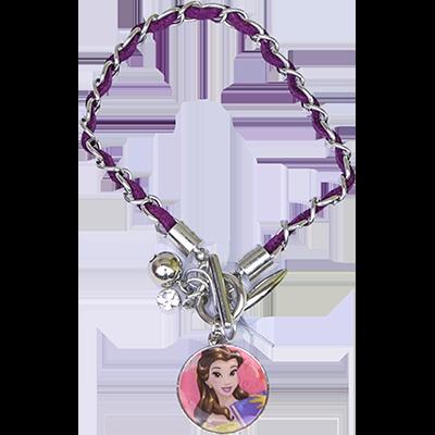 Acessório Princesas Disney: Pulseira Bela (A Bela e a Fera) - DTC