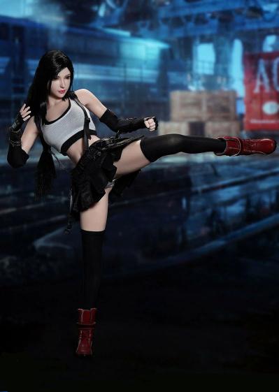 Action Figura Colecionável Tifa Lockhart: Final Fantasy VII Escala 1/6 - MKP