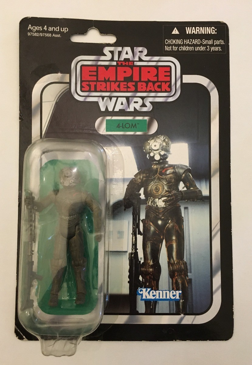 Action Figure 4 LOM: O Império Contra-Ataca - The Vintage Collection