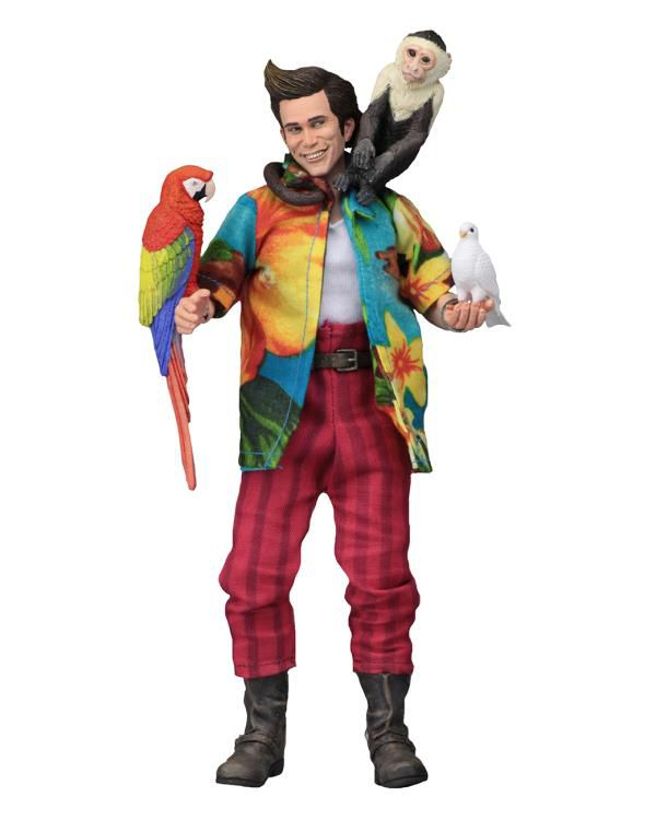 Action Figure Ace Ventura (Retro Clothed): Ace Ventura Boneco Colecionável - Neca  - Toyshow Geek e Colecionáveis Tudo em Marvel DC Netflix Vídeo Games