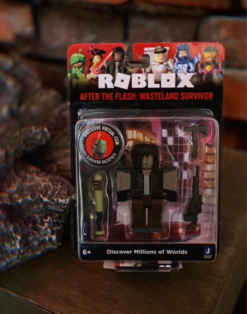 Action Figure After The Flash: Wasteland Survivor: Roblox - Sunny