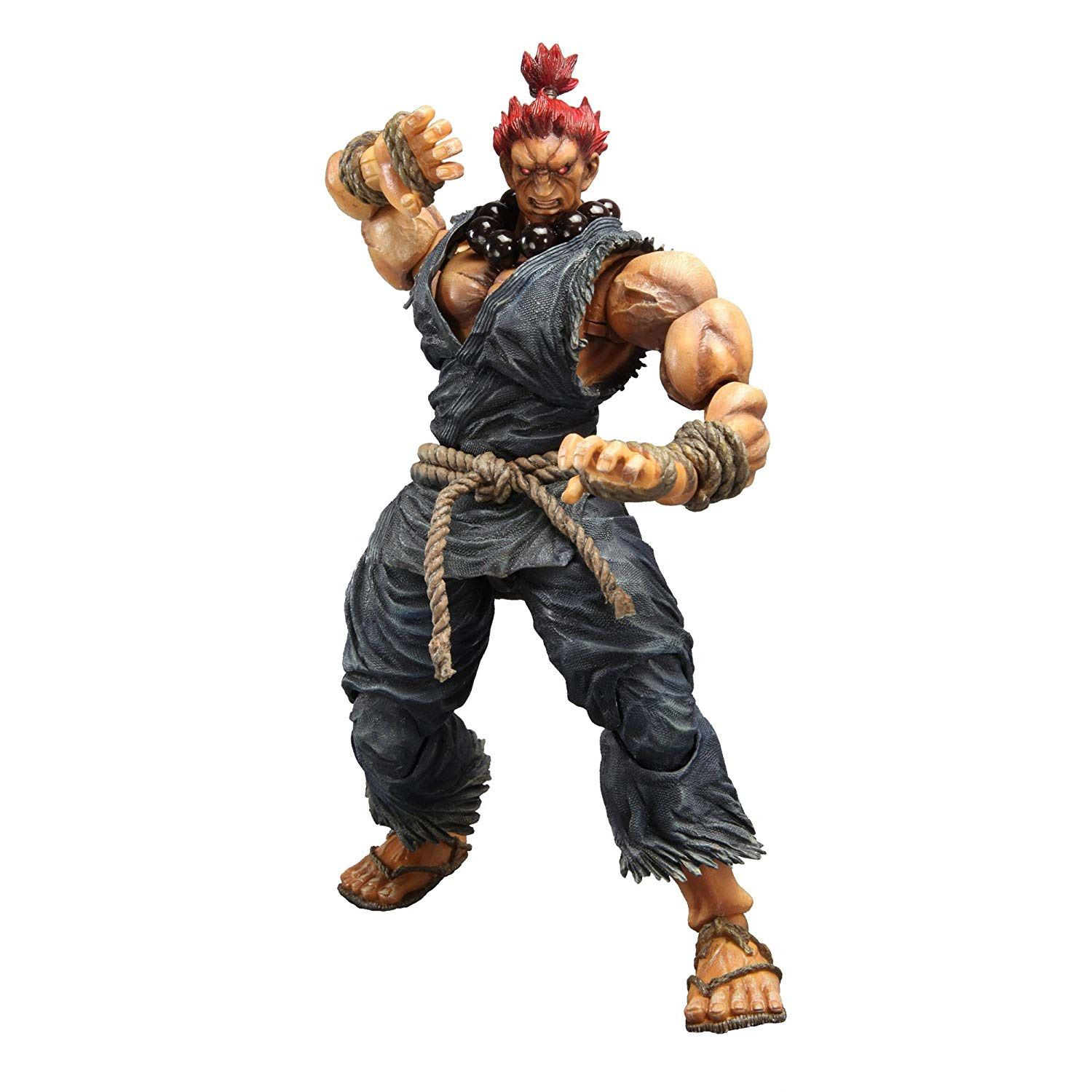 Action Figure Akuma: Street Fighter IV (Boneco Colecionável) - Play Arts Kai Square Enix