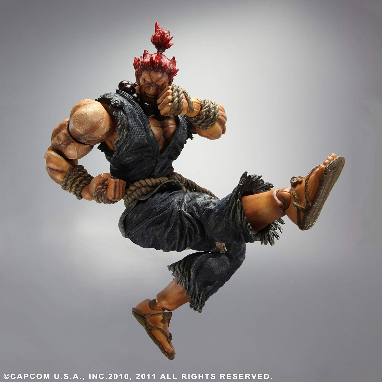 Action Figure Akuma: Street Fighter IV (Boneco Colecionável) - Play Arts Kai Square Enix