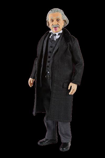Action Figure Albert Einstein Físico língua para fora Versão 2 Escala 1/6 - How2Work Toys - ET