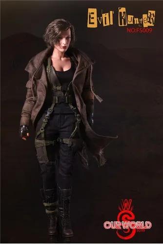 Action Figure Alice: Resident Evil 6 O Capítulo Final Milla Jovovich FS009 Escala 1/6 - Ourworld