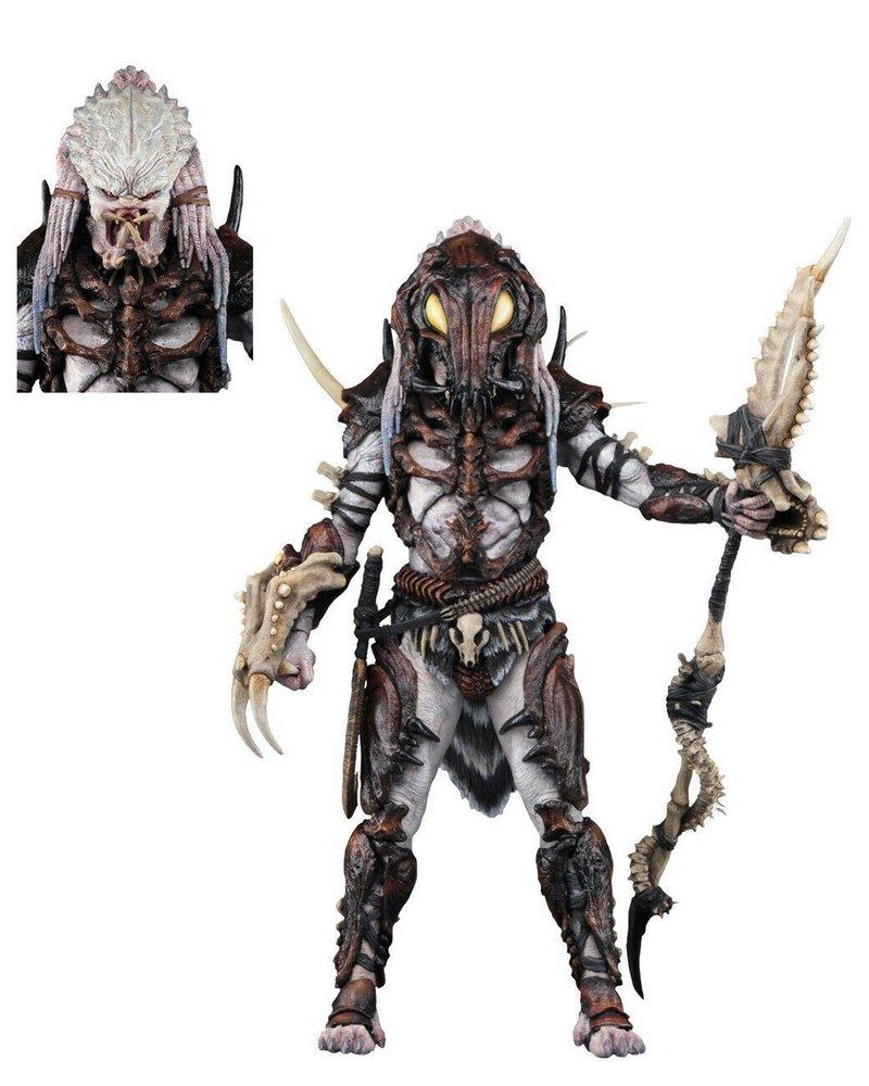 Action Figure Alpha Predador: Predator Escala 1/6 (Edição Especial 100th Predator Figure) - Neca