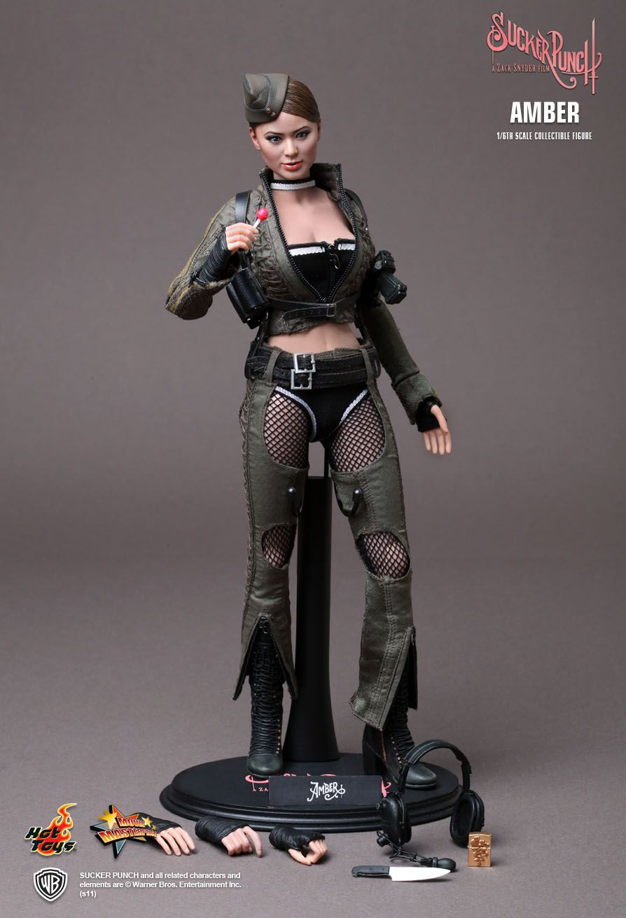Action Figure Amber: Sucker Punch Escala 1/6 - Hot Toys - CDL