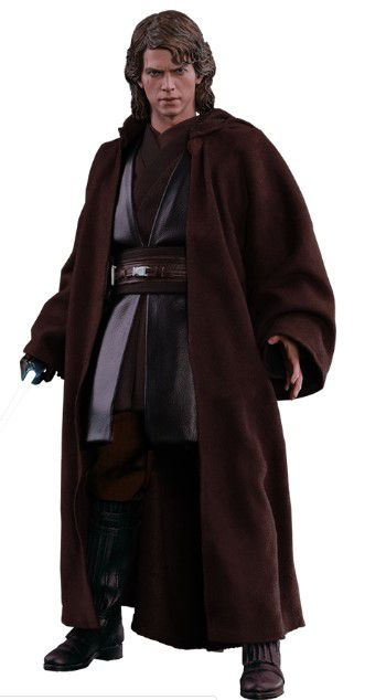 Action Figure Anakin Skywalker: Star Wars Episódio III A Vingança Dos Sith (Star Wars Episode III Revenge of the Sith) Boneco Colecinoável (MMS437) - Hot Toys