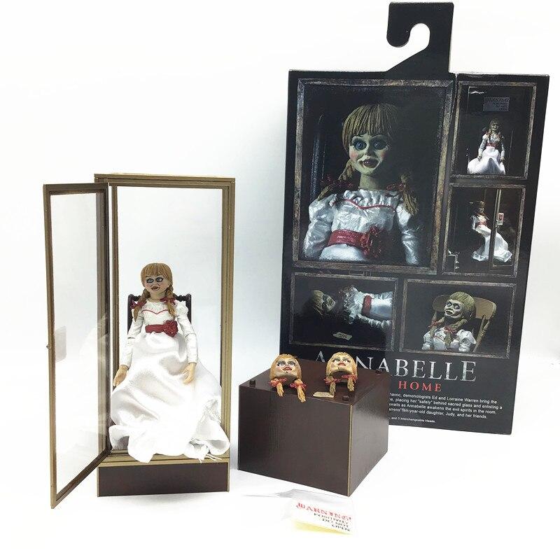 "Action Figure Annabelle Ultimate 7"":  Annabelle A Origem Do Mal - Neca"