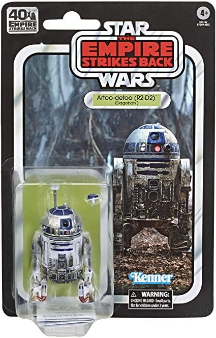 Action Figure Artoo-Detoo R2-D2: Star Wars (The Black Series) (40 Anos O Império Contra-Ataca) (40th The Empire Strikes Back) E9314  - Hasbro