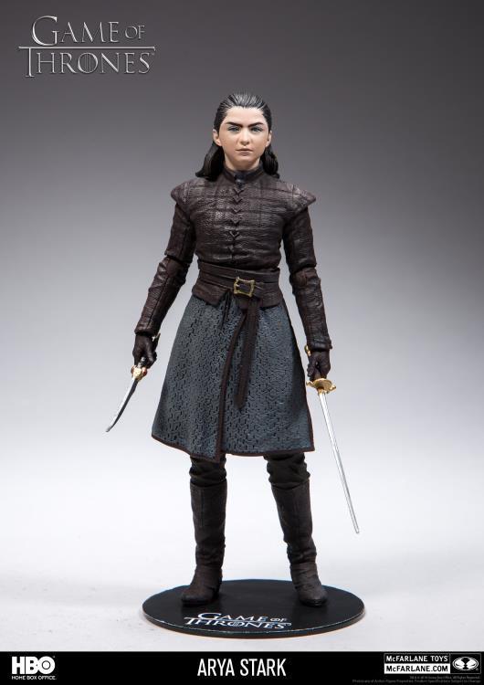 Action Figure Arya Stark : Game of Thrones - Boneco Colecionável - McFarlane