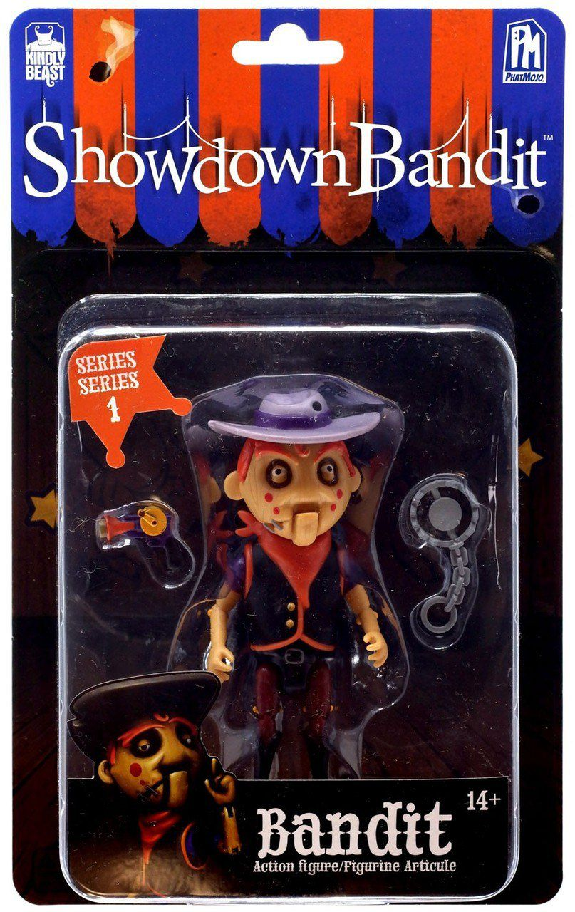 Action Figure Bandit: Showdown Bandit (Series Series 1) - PhatMojo