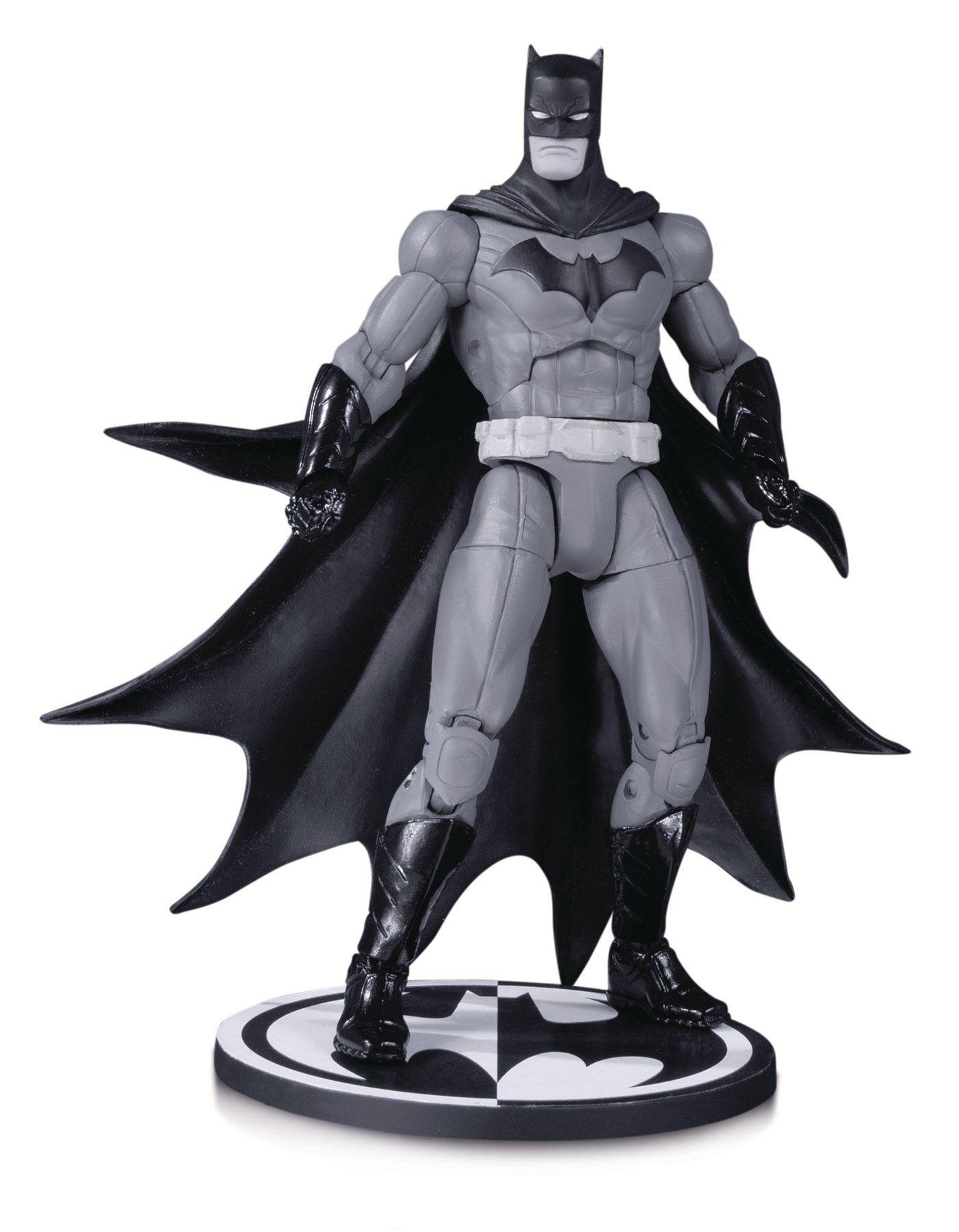 Action Figure Batman: Black And White Boneco Colecionável (by Greg Capullo) - DC Collectibles - CD