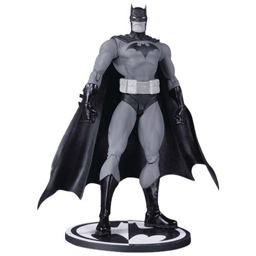 Action Figure Batman: Black And White Boneco Colecionável (by Jim Lee) - DC Collectibles (Apenas Venda Online)