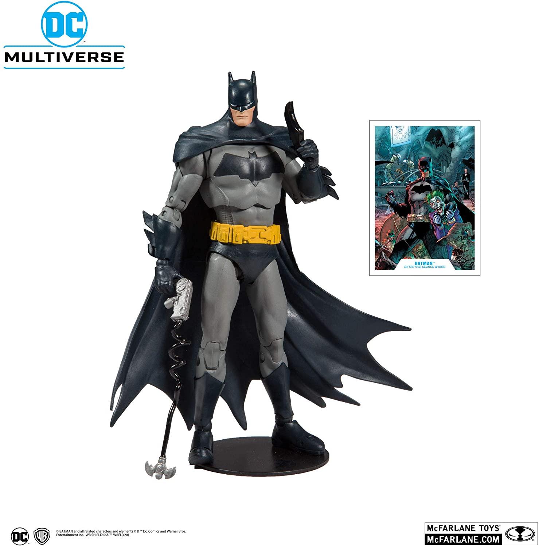 Action Figure Batman (Detective Comics #1000): DC Comics (Multiverse) - McFarlene Toys