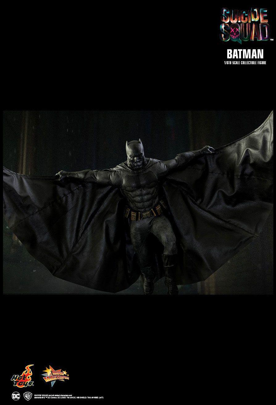 Action Figure Batman: Esquadrão Suicida (Suicide Squad) MMS409 (Escala 1/6) Boneco Colecionável - Hot Toys - CDL