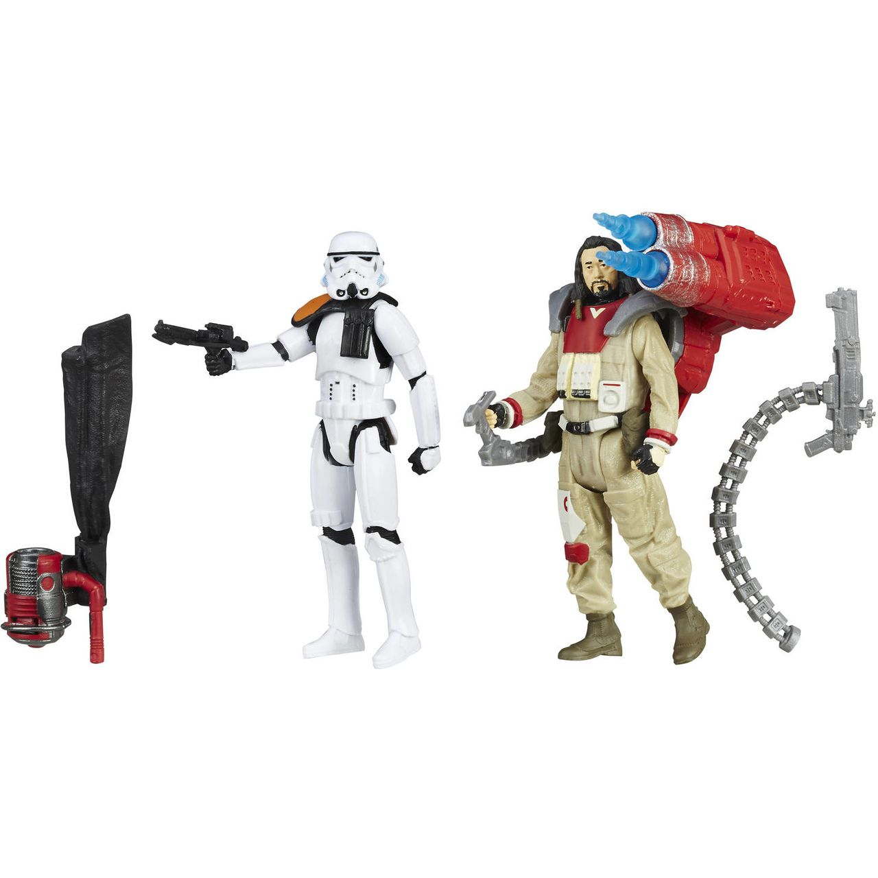 Action Figure Baze Malbus vs. Imperial Stormtrooper: Star Wars Rogue One - Boneco Colecionável - Hasbro