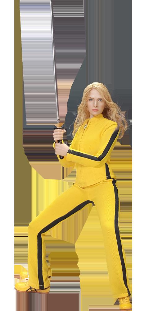 Action Figure Beatrix Kiddo (The Bride): Kill Bill (Boneco Colecionável) Escala 1/6 - Star Ace