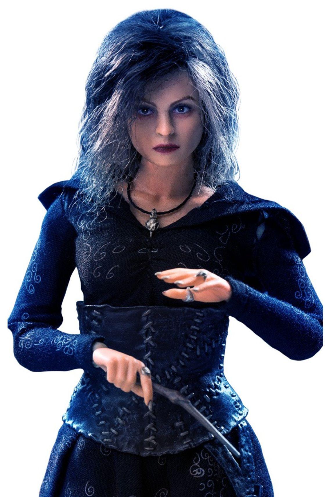 Action Figure Bellatrix Lestrange Regular Ver. Normal Version: Harry Potter Escala 1/8 - Star Ace