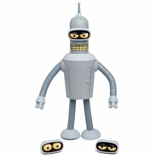 Action Figure Bender (Falante / Talking): Futurama - Toynami
