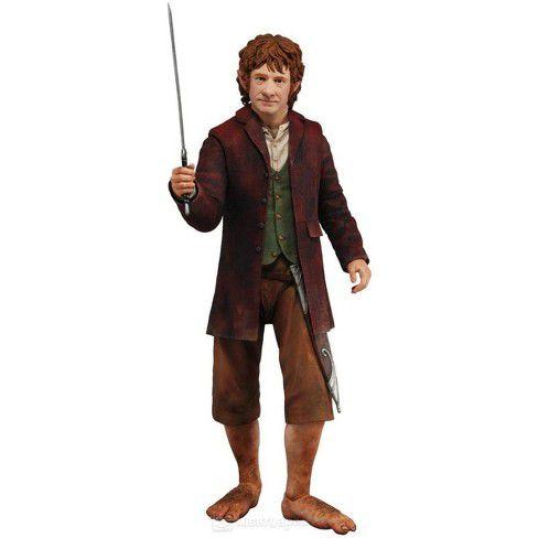 Action Figure Bilbo Baggins - The Hobbit - Escala 1/4 - Neca