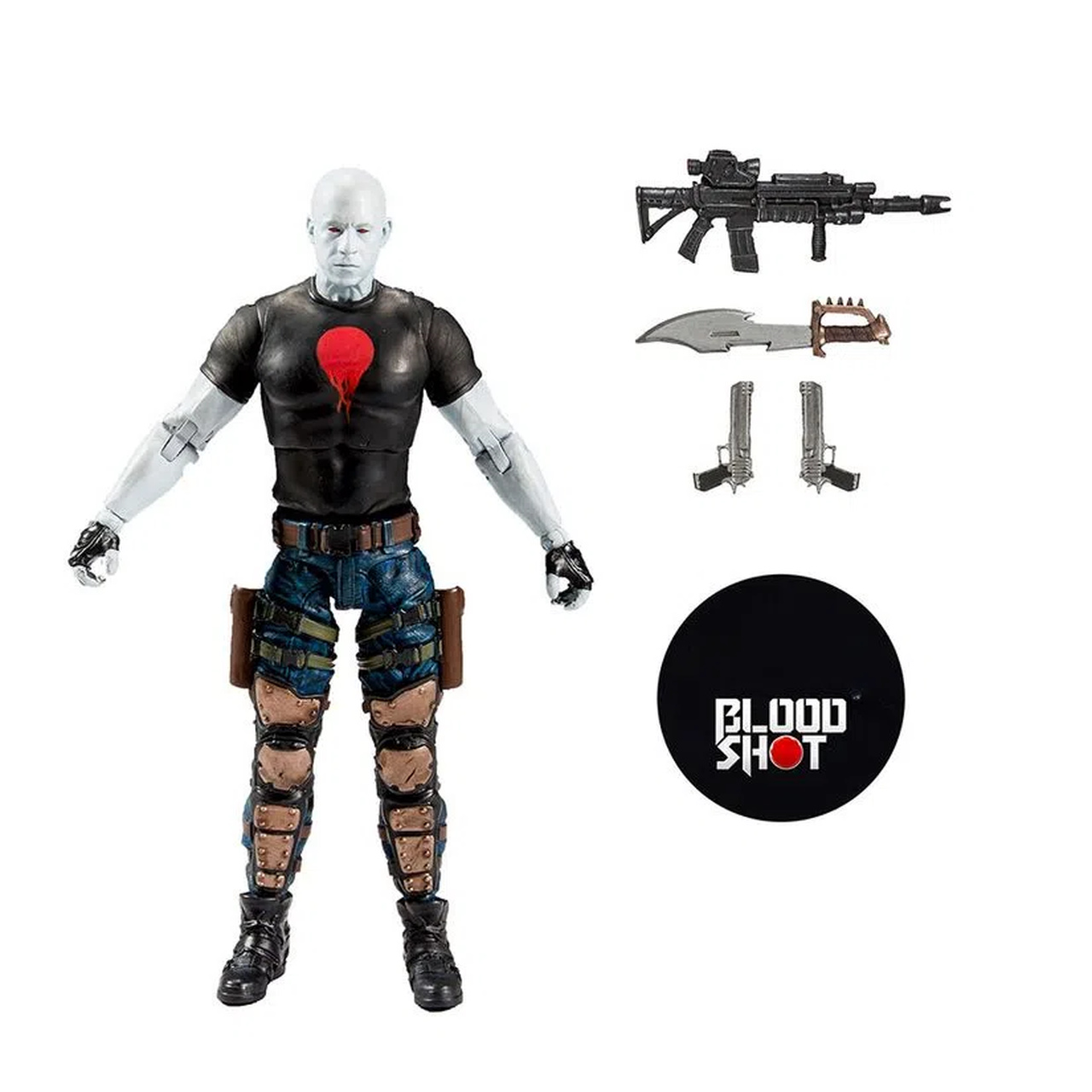 Action Figure Bloodshot: Valiant Comics - Mcfarlane Toys