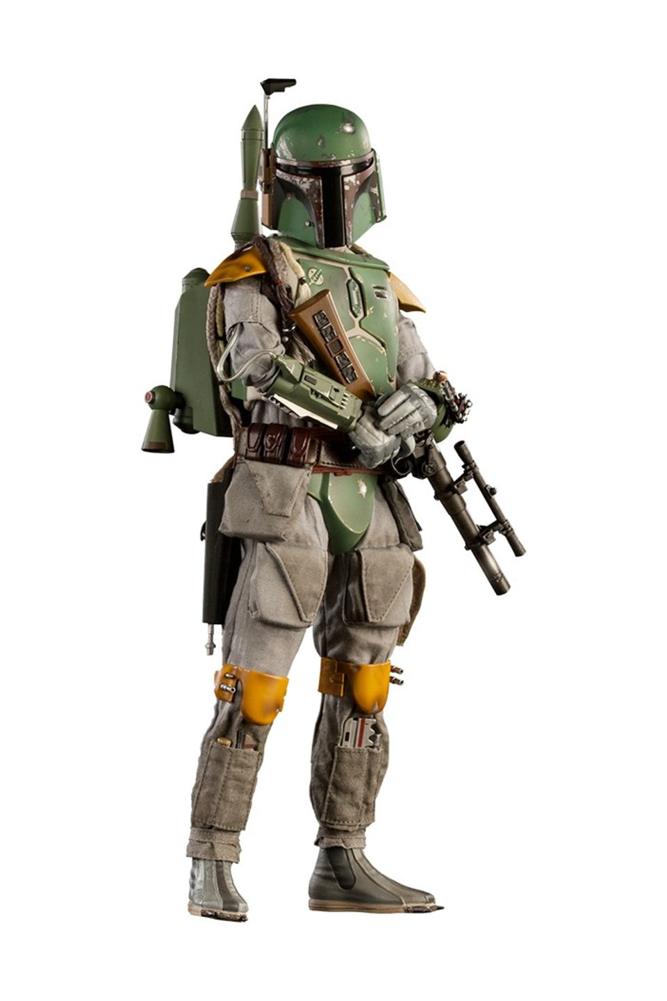 Action Figure Boba Feet Mythos: Star Wars Escala 1/6 Sixth Scale (Exclusivo) Disney - Sideshow Collection