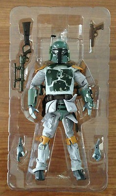 Action Figure Boba Fett: Star Wars Escala 1/6 - Medicom