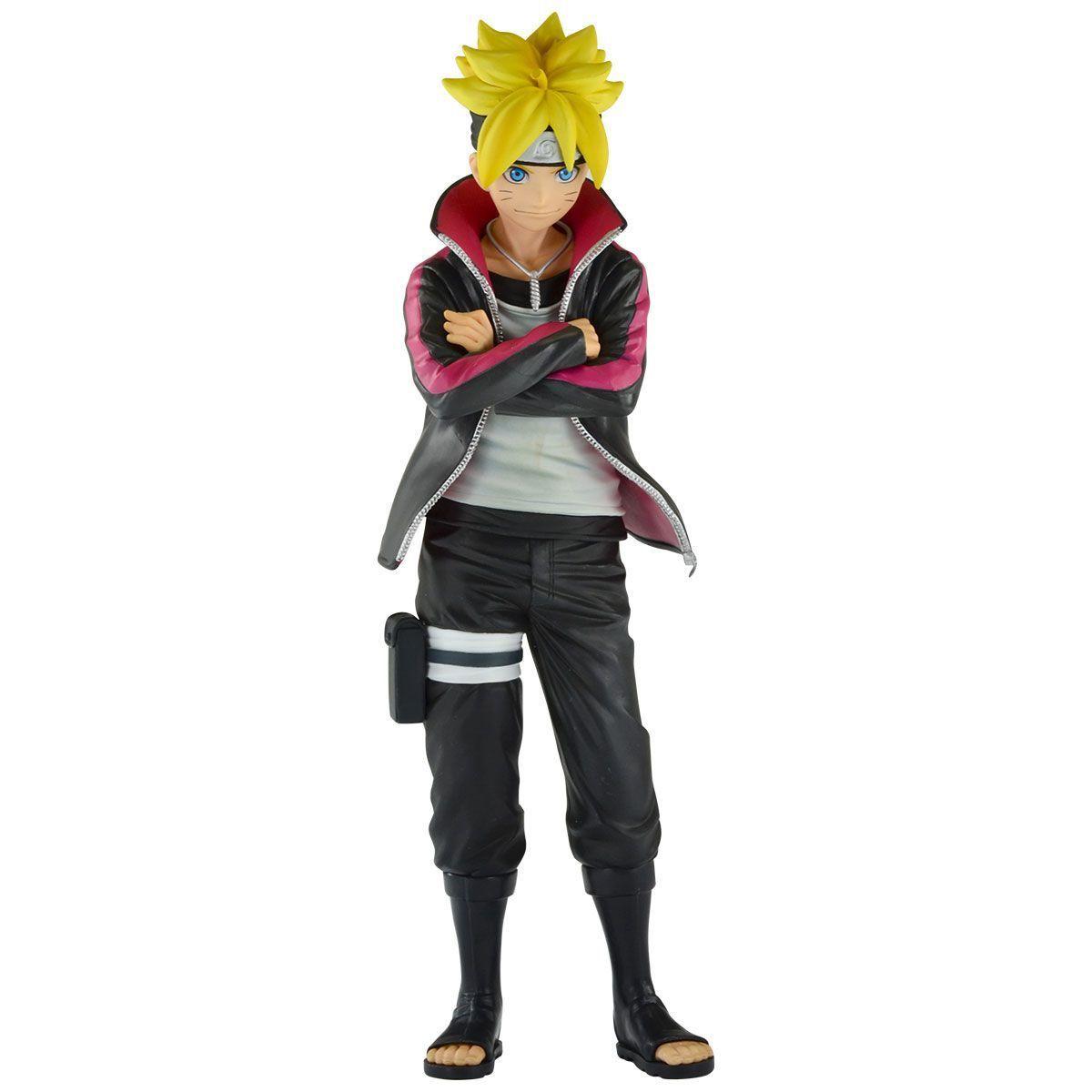 Action Figure Boruto Uzumaki: Naruto Next Generation (Grandista) Boneco Colecionável - Banpresto