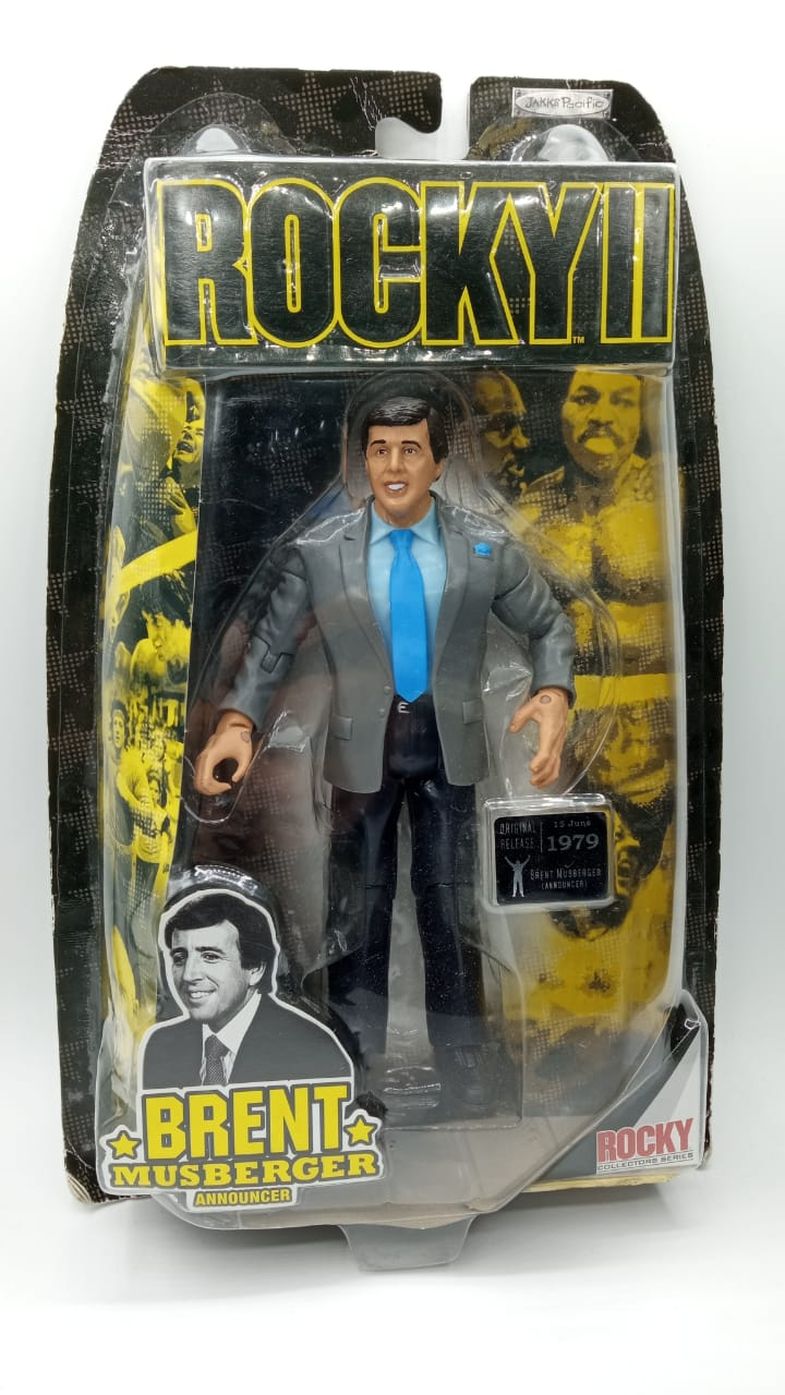 Action Figure Brent Musberger: Rocky II