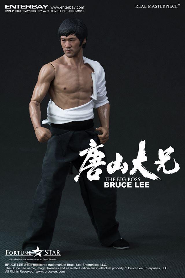Action Figure Bruce Lee The Big Boss (O Dragão Chinês) Escala 1/6 - Enterbay