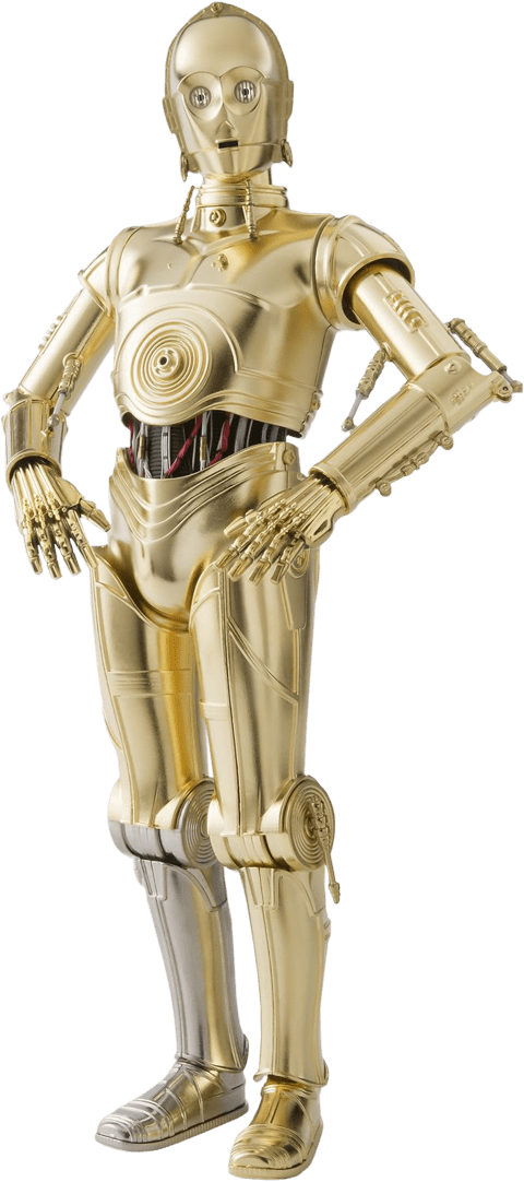 Action Figure C-3PO: Star Wars Escala 1/6 (Tamashii Nations) Die Cast - Sideshow