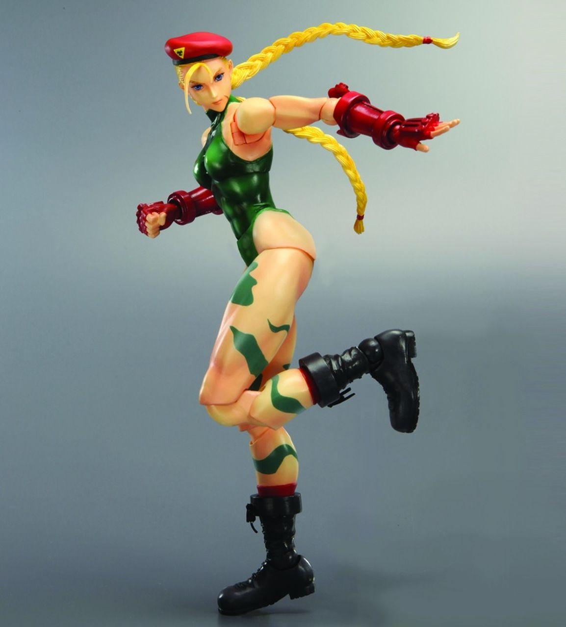 Action Figure Cammy: Street Fighter IV (Boneco Colecionável) - Play Arts Kai Square Enix