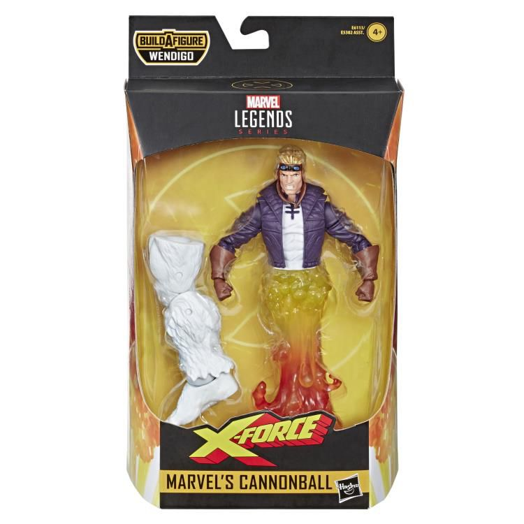 Action Figure Cannonball: X-Force (Marvel Legends Series) - Hasbro