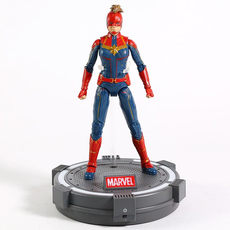 Action Figure Capitã Marvel: Vingadores Ultimato Avengers End Game - MKP